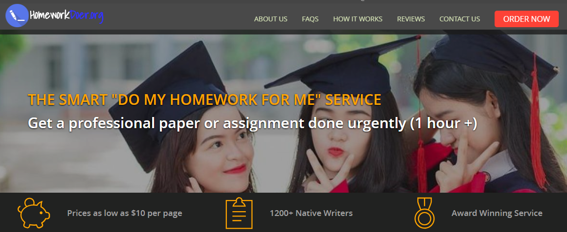HomeworkDoer review: a company you should forget about!